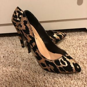 Cheetah Heels; BRAND NEW